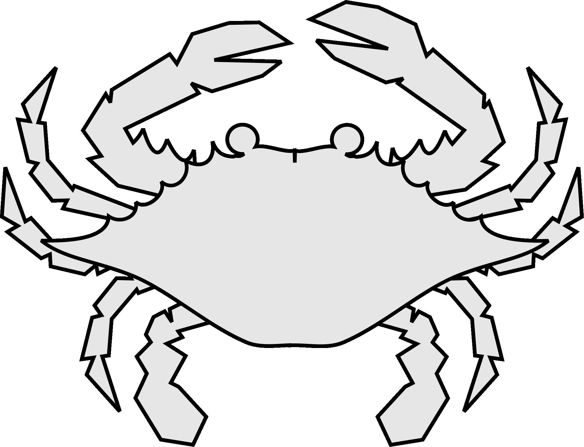 deux-part crab design