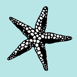 star fish design