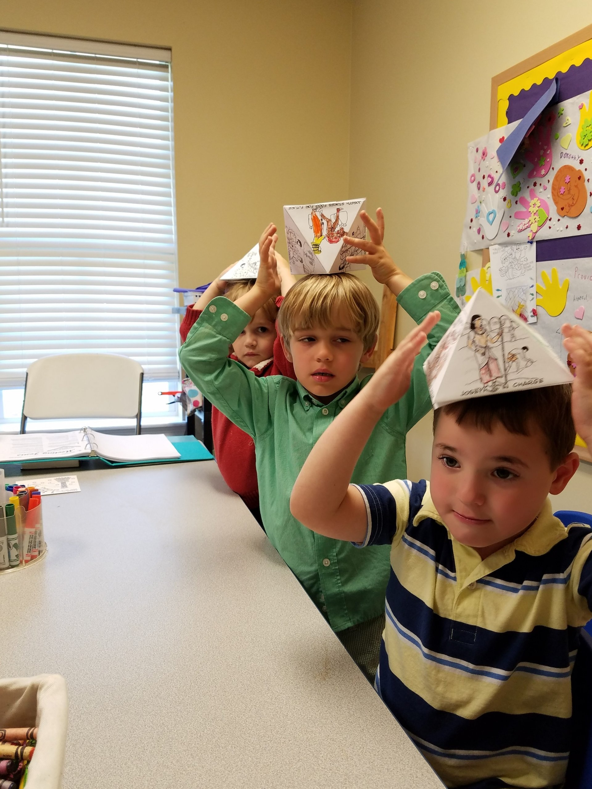 Sunday School Crafts: Joseph Pyramid