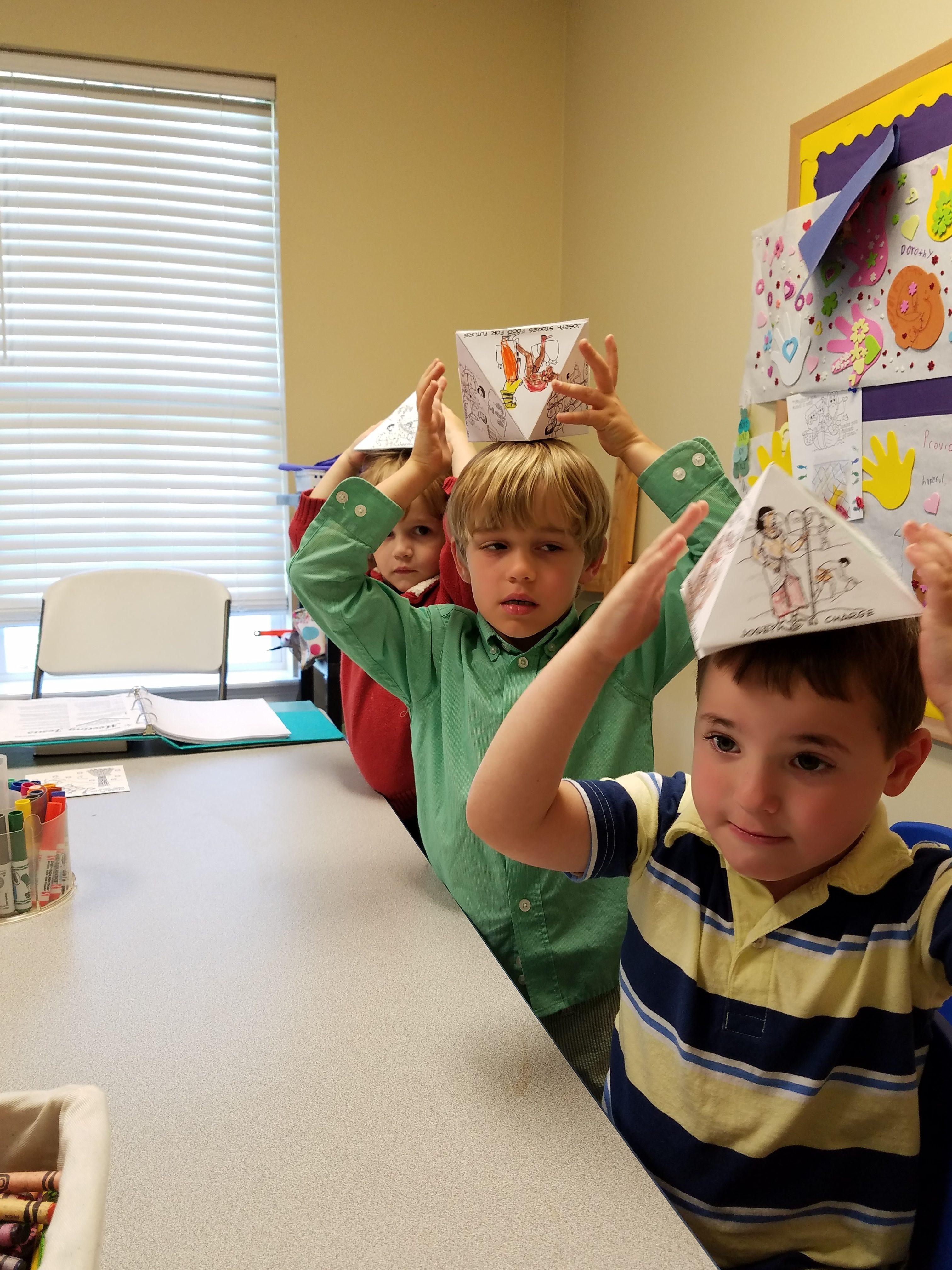 Sunday School Crafts: Joseph Pyramid