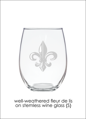 Well Weathered Fleur de Lis 1