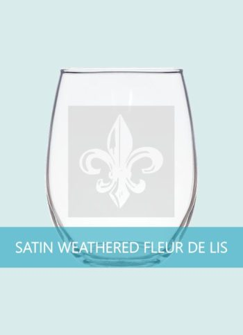 Well Weathered Fleur de Lis