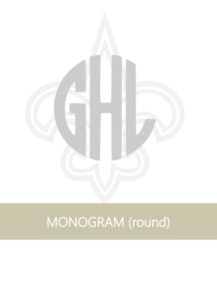 NOLA FDL AND SAINTS MONOGRAM