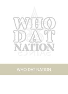 NOLA FDL AND SAINTS WHO DAT NATION