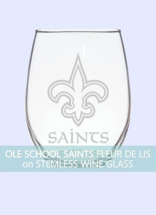 Ole School New Orleans Saints Fleur de Lis