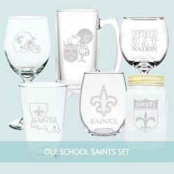 Ole School Saints Set of 6 (or 4)