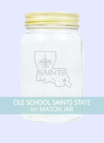 Ole School New Orleans Saints State of Louisiana