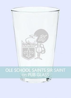 Ole School New Orleans Saints Sir Saint
