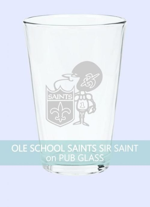 Ole School New Orleans Saints Sir Saint