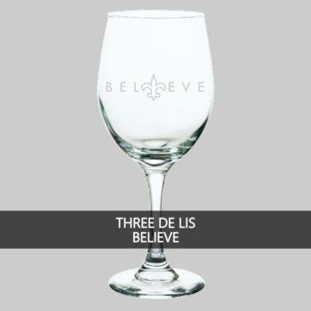 Three de Lis: Who Dat, Faith and Believe