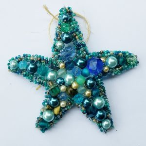 Blue Green Pearl Starfish