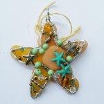 Translucent Clay Starfish