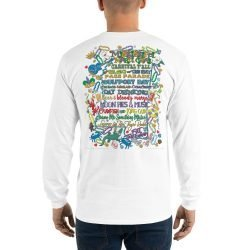 Mississippi Mardi Gras Long Sleeve Shirt BACK PRINT