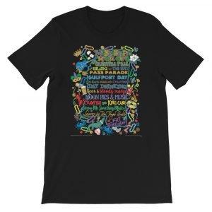 Mississippi Mardi Gras Short-Sleeve T-Shirt