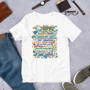 Mississippi Mardi Gras Short-Sleeve T-Shirt