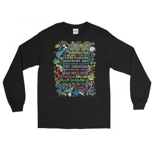 Mississippi Mardi Gras Long Sleeve Shirt