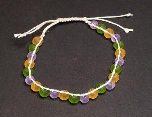 Mardi Gras Bracelet