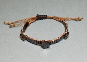 Hematite Trinity Wrap Bracelet