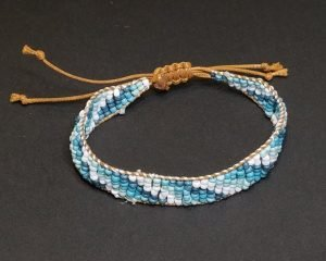 Water colors Wrap Bracelet