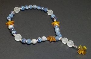 Glazed Clay Artisan Anglican Rosary