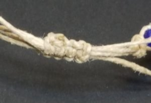 Cobalt African Glass Bead Bracelet