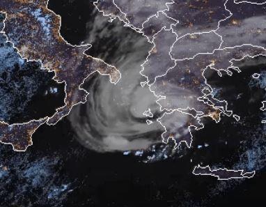 Mediterranean + Hurricane = Medicane